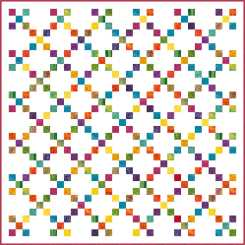 scrappy-rainbow-irish-chain-quilt
